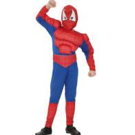 Spiderman mit Muskeln
