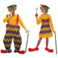 Clownpaar August und Augustine
