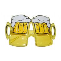 Brille Bierglas