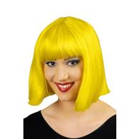 Bop Pagen Frisur Perücke gelb - 100% Kanekalon