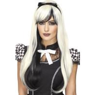 Cosplay Dark Alice Deluxe weiss - schwarz