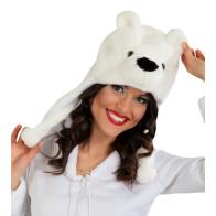 Eisbären-Mütze
