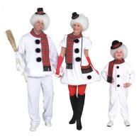 Schneemann Familie
