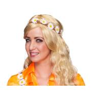 Flower Power Stirnband mit Gänseblümchen