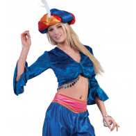 Top Jasmin blau