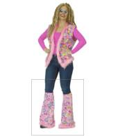 Hippie-Stulpen rosa
