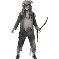Ausgefallenes Piratenkostüm im Zombie Look
