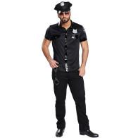 US-Police Shirt Sexy
