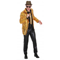 Show, Gala Glamour Glitzer Jacket gold