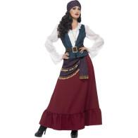 Frau als Piratin mit Stirnband