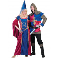 Paar Mittelalter Kostüm