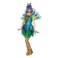 Frau verkleidet mit Karnevals Kostüm Zigeunerin