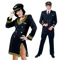Piloten Paar Uniform
