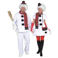 Schnee-Paar