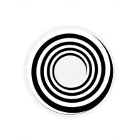 Schwarze Spiralen