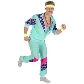 Gruppenkostüm 80er Jahre Jogging Anzug