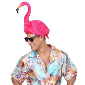 Flamingohut Mann