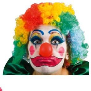 Clown Perücke bunt