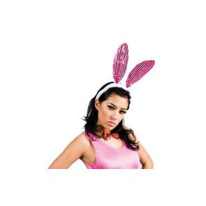 Häschen und Bunny Set mit rosa Ohren
