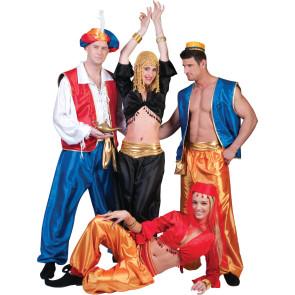 1001 Nacht Harem Gruppe Karneval