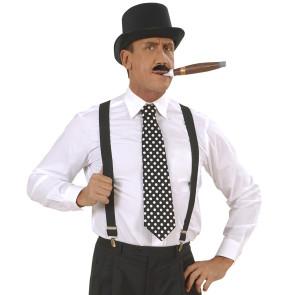 Krawatte gepunktet