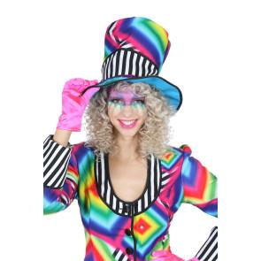 Clown Zylinder ausgefallen Dame