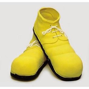 clown schuhe gelb