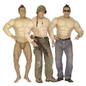 Muskel Body für Muskelmann Kostüm