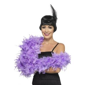 Federboa flieder violett 180cm