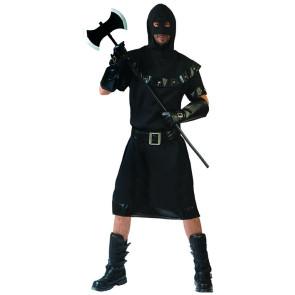 Henker Kostüm Mittelalter mit Kapuze
