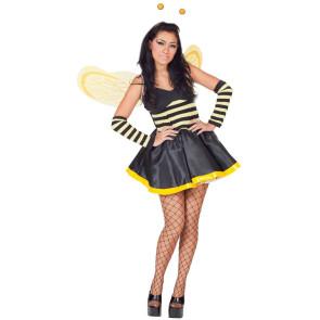 Kostüm Biene, mit Flügeln & Fühlern günstig