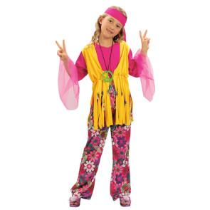 Hippie Mädchen 3-teilig