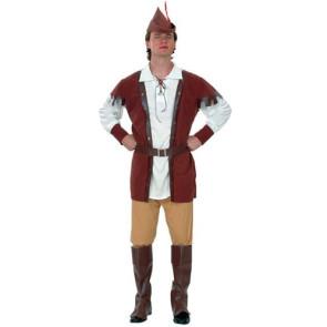 Kostüm Robin mit Weste, Hose, Hemd, Gürtel usw.