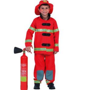 Junge Feuerwehrmann