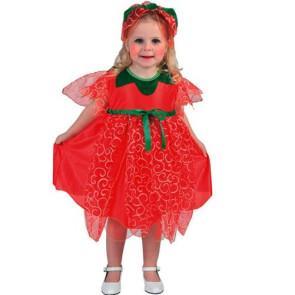 Erdbeerkostüm Kleinkind