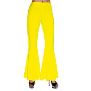gelbe Schlaghose für den 70er Jahre Party Look