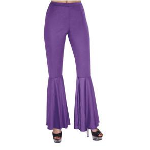Kombination Schlaghose in lila für die 70er Jahre Disko Kostüme