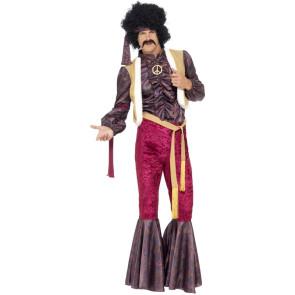 70er Jahre Rockstar Kostüm, mehrteilig sehr cool