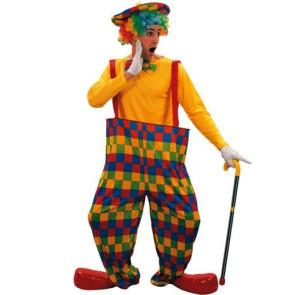 Clown mit weiter Hose