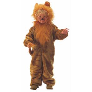 Kind als Löwe verkleidet