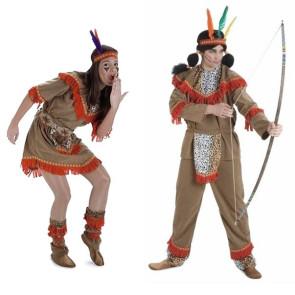Indianer Paar Kostüm