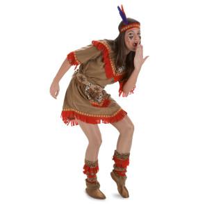 Hübsche Indianerin wie Pocahontas