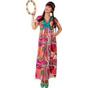 Tipp Hippie Kleid für Damen lang geschnitten S bis XL
