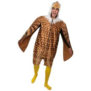 Adler Kostüm Overall Erwachsene