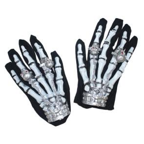 Gruselhände blinkend