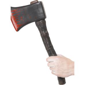 Zubehör Halloween Beil blutig Axt