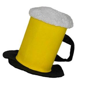 Hut in Bierglasform lustig und ausgefallen