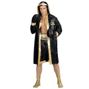 Bild von Boxer im Kostüm