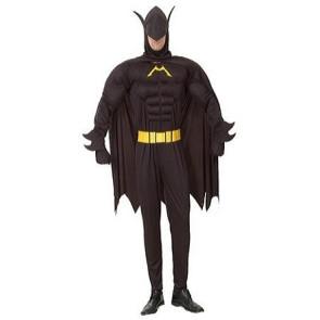 Batman Madman kostüm mit Muskeln