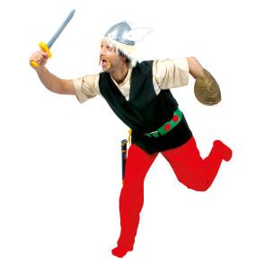 Verkleidung in Erinnerung an Asterix